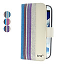 Colorful Striated PU Leather Full Body Case for Galaxy Note 2 N7100 (Assorted Colors)