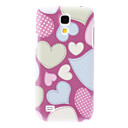 Matte Style Lovely Heart-Shaped Durable Hard Case for Samsung Galaxy S4 Mini I9190