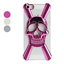 3D Hollow-out Skull Designed Hard Case for iPhone 5/5S (Optional Colors)