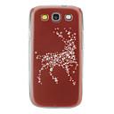 Twinkling Deer Pattern Hard Case for Samsung Galaxy S3 I9300