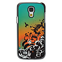 Flower and Birds Pattern Aluminum Hard Case for Samsung Galaxy S4 mini I9190