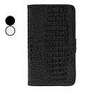 Crocodile Grain Full Body Case with Card Slot and Stand for Samsung Galaxy Note2 N7100(Assorted Colors)