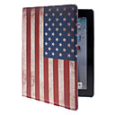 The Stars and the Stripes Pattern PU Leather Full Body Case with Stand for iPad 2/3/4