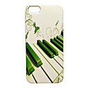 Keys of The Piano Pattern Back Case for iPhone 5/5S