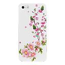 Розовый Цветущая слива шаблон Футляр для iPhone PC 5 / 5S