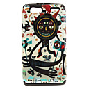 Long Arm Freak Pattern TPU Material 2-In-1 Back Case for MOTO XT910/XT912