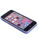 Solid Color TPU Soft Case Cover for iPhone 5C (Assorted Colors)