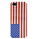 США Amerian Национальный флаг Hard Cover чехол для iPhone 5 / 5S