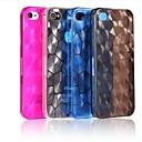 Водный Куб Solid Цвет корпуса ПК Вернуться iPhone 4 / 4S (разных цветов)
