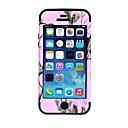 Pine Tree Pattern Защитный силиконовый чехол для iPhone 5 (разных цветов)