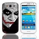 Дело JOKER Дизайн Жесткий с 3-Pack Защитные пленки для Samsung Galaxy S3 I9300