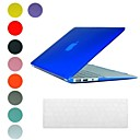Translucent Design PC Hard Case with Keyboard Cover Skin for MacBook Air(Assorted Colors)