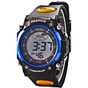 Children Round Dial Multifunction LED Digital Sports Wrist Watch 30m Waterproof (Assorted Colors) Cool Watches Unique Watches