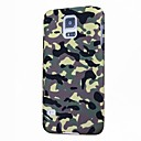 Camouflage Pattern Hard Case with Glow in the Dark for Samsung Galaxy S5 I9600