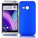 Ультратонкий Нефть покрытием Hard чехол для ПК HTC One M8 Mini (разных цветов)