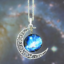 European Galaxy Fashion Timed Stone Pendant Necklace(1 Pc)