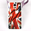 Waving Flag Pattern PC Back Case for Samsung S5/I9600