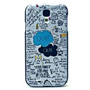 Ok Cartoon Pattern Hard Case for Samsung Galaxy S4 I9500