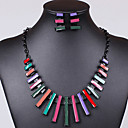 Classic Hot Sale Item Electroplate Colorful Oildrip  Alloy (Necklaces&Earrings&)