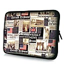 Elonno American Flag Neoprene Laptop Sleeve Case Bag Pouch Cover for 15'' Macbook Pro Retina Dell HP Acer