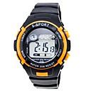 Мужская спортивная Digital силиконовой лентой наручные часы (разных цветов)