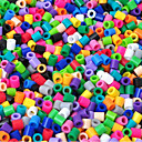 manik perler (5mm manik warna-warni) (500 pcs)