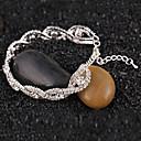 Мода Полностью Diamanted горный хрусталь браслет-оберег (1 шт) (больше цвета)