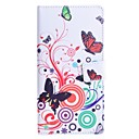 Бабочка Любовь цветочным узором PU кожаный чехол с подставкой и слот для карт OnePlus One