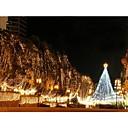 Водонепроницаемый 10M 5W 100LED теплый белый и холодный белый свет светодиодных Свет Рождества Украшение Строка Свет (110)