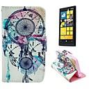 Ловец снов шаблон PU кожаный Полный Дело Корпус с подставкой и Защитная пленка для Nokia Lumia N630