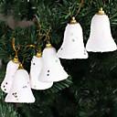 Рождественская елка орнамент Снег Jingle Bell, Пена, Набор 6