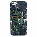 Печатная плата шаблон PC Жесткий задняя обложка чехол для iPhone 5 / 5S