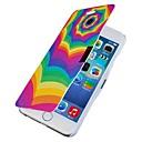 Красочные волнистые линии магнитного флип чехол для всего тела с отверстием для iPhone 6