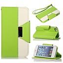 Тип KARZEA Треугольник смешанных цветов TPU кожаный всего тела с подставкой и стилус для iPhone 5 / 5S (разных цветов)