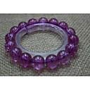 Любовь ваш естественный Фиолетовый Агат камень Strand Браслеты