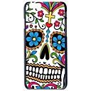 Doopootoo ™ Красочный цветочный Череп Окрашенные Pattern Тонкий чехол Назад Пластик жесткий футляр для iPhone 6 Plus 5.5