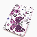 Фиолетовый Бабочка PU Tablet Защита чехол с подставкой для IPad 2 воздуха