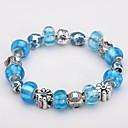 Изысканный Мода Цвет бисер браслет Серебряные украшения