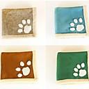 Pet сохранения тепла Paw Print Square Pet Ватерлоо площадку (разных цветов)