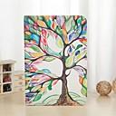 Красочный шаблон дерево PU кожаный чехол с подставкой и слот для карты для Ipad Air