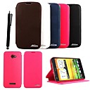KARZEA™Elegant PU Leather Case with Stand and Stylus for HTC X920e (Assorted Colors)