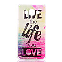 Хороший шаблон Жизнь Футляр для ПК Samsung Galaxy A7