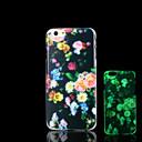Цветы Pattern Светящиеся в темноте чехол для iPhone Обложка 6