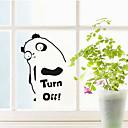 Многофункциональный ПВХ Panda Форма Декоративные наклейки
