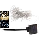 Серия 1шт Дин Яо Солнечный свет 80LED водонепроницаемый 10m водонепроницаемый открытый сад Рождественский вечер декоративные огни