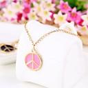 Розовый Антивоенный мир образец Мода Женщины браслет