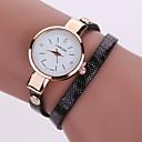 Damen-Armbanduhr PU mit einer einfachen, stilvoller Atmosphäre mit feinen Windungen Uhr (verschiedene Farben)