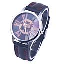 Brand New Women Leaterh watch Quartz Watch Ladies Flowers Colorful Plastic Casual Bracelet Wristwatch Number Dial