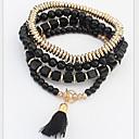 MISSING U Alloy / Rhinestone Bracelet Strand Bracelets Party / Daily 1set