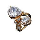 Рождественский подарок леди долговечны свадьба Заявление кольцо